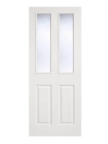 LPD White Moulded Internal Glazed Door 2-Panel 2L