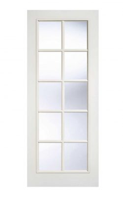 LPD White Moulded SA 10L Internal Glazed DoorLPD White Moulded SA 10L Internal Glazed Door