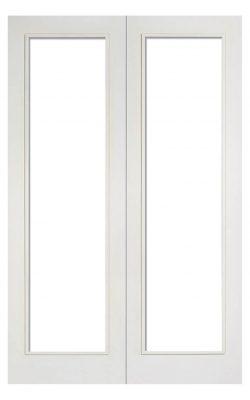 LPD White Pattern 20 Internal Glazed Door PairLPD White Pattern 20 Internal Glazed Door Pair