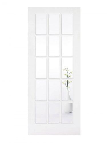 LPD White SA Internal Glazed Door 15L