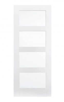 LPD White Shaker 4-Panel Internal DoorLPD White Shaker 4-Panel Internal Door