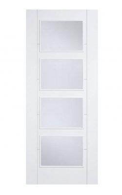 LPD White Vancouver Internal Glazed Door 4L ClearLPD White Vancouver Internal Glazed Door 4L Clear
