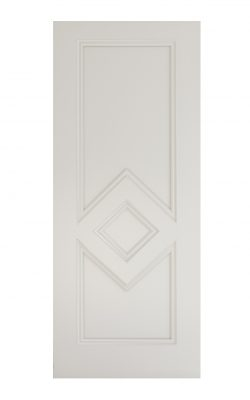 Deanta Ascot White Primed FD30 Fire DoorDeanta Ascot White Primed FD30 Fire Door