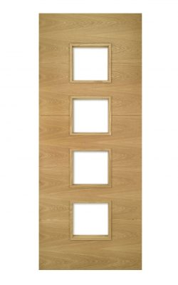 Deanta Augusta Prefinished Oak Glazed FD30 Fire DoorDeanta Augusta Prefinished Oak Glazed FD30 Fire Door