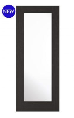 LPD Charcoal Black Diez 1L Internal Glazed DoorLPD Charcoal Black Diez 1L Internal Glazed Door