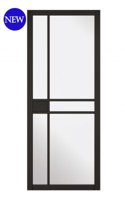 LPD Black Greenwich Internal Glazed Door