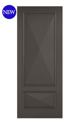 LPD Black Knightsbridge 2-Panel Internal DoorLPD Black Knightsbridge 2-Panel Internal Door