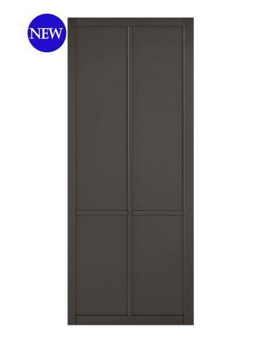 LPD Black Liberty 4-Panel Internal Door