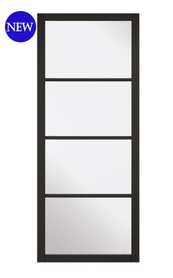 LPD Black Soho 4L Internal Glazed DoorLPD Black Soho 4L Internal Glazed Door