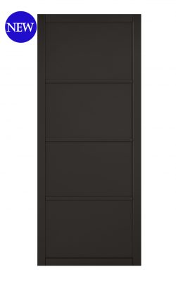 LPD Black Soho 4-Panel Internal DoorLPD Black Soho 4-Panel Internal Door