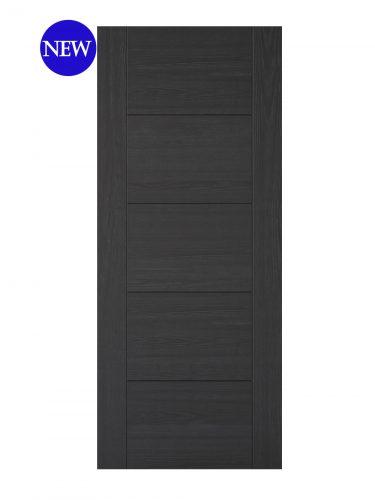 LPD Charcoal Black Vancouver 5P FD30 Fire Door