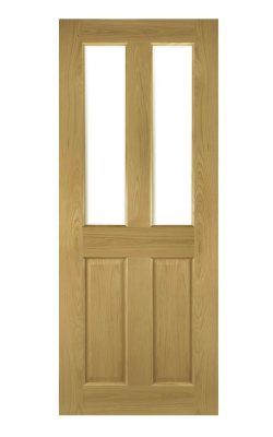 Deanta Bury Prefinished Oak Bevelled Internal Glazed DoorDeanta Bury Prefinished Oak Bevelled Internal Glazed Door