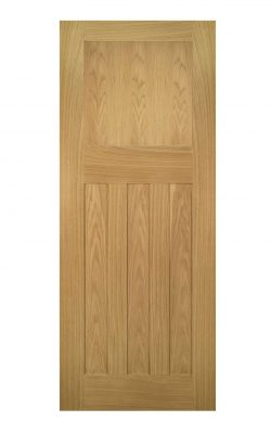 Deanta Cambridge Unfinished Oak FD30 Fire DoorDeanta Cambridge Unfinished Oak FD30 Fire Door