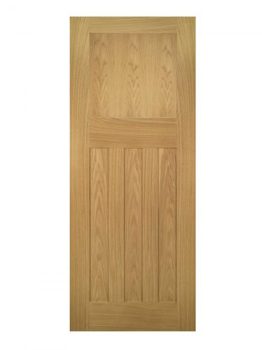 Deanta Cambridge Unfinished Oak Internal Door