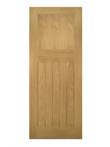 Deanta Cambridge Unfinished Oak FD30 Fire Door