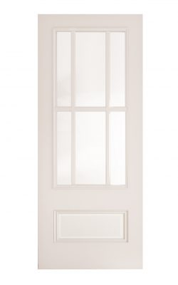 Deanta Canterbury White Primed Bevelled Internal Glazed DoorDeanta Canterbury White Primed Bevelled Internal Glazed Door