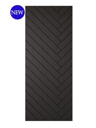 LPD Charcoal Grey Embossed Bexhill External door