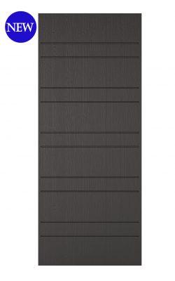 LPD Charcoal Grey Embossed Newmarket External DoorLPD Charcoal Grey Embossed Newmarket External Door