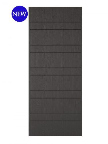 LPD Charcoal Grey Embossed Newmarket External Door