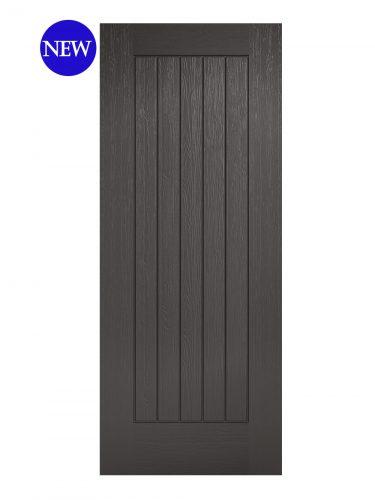 LPD Charcoal Grey Embossed Norfolk External Door
