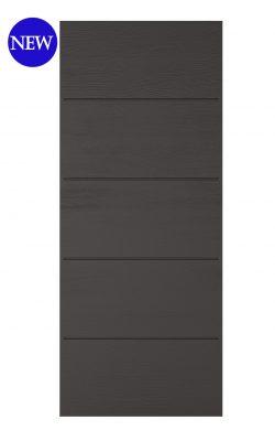 LPD Charcoal Grey Embossed Santandor External doorLPD Charcoal Grey Embossed Santandor External door