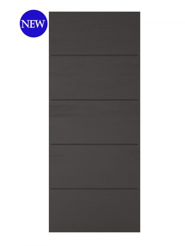LPD Charcoal Grey Embossed Santandor External door