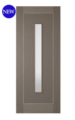 LPD Chocolate Grey Inlay 1L Internal Glazed DoorLPD Chocolate Grey Inlay 1L Internal Glazed Door