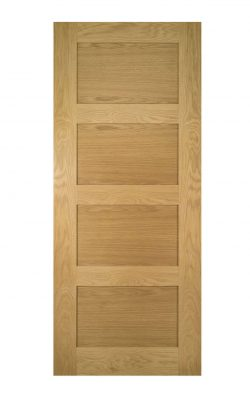 Deanta Coventry Unfinished Oak FD30 Fire DoorDeanta Coventry Unfinished Oak FD30 Fire Door