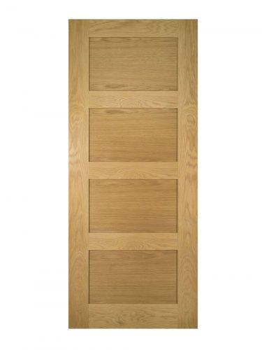 Deanta Coventry Unfinished Oak FD30 Fire Door