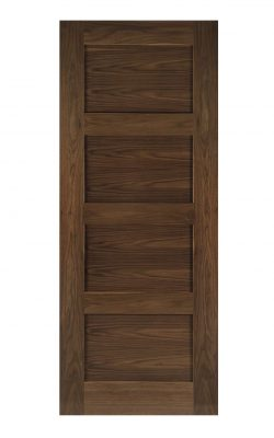 Deanta Coventry Prefinished Walnut FD30 Fire DoorDeanta Coventry Prefinished Walnut FD30 Fire Door