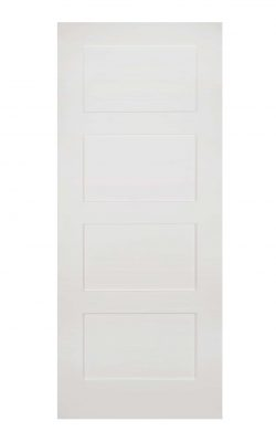 Deanta Coventry White Primed FD30 Fire DoorDeanta Coventry White Primed FD30 Fire Door