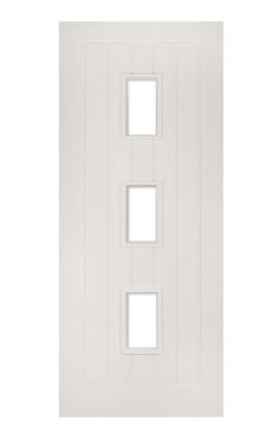 Deanta Ely White Primed Internal Glazed Door (3L)Deanta Ely White Primed Internal Glazed Door (3L)