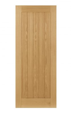 Deanta Ely Unfinished Oak Internal DoorDeanta Ely Unfinished Oak Internal Door