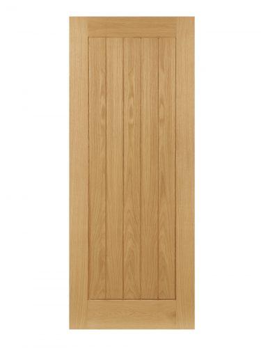 Deanta Ely Unfinished Oak FD30 Fire Door