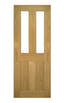 Deanta Eton Unfinished Oak Internal Glazed DoorDeanta Eton Unfinished Oak Internal Glazed Door