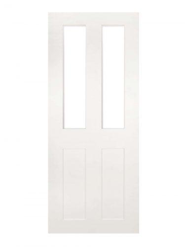 Deanta Eton White Primed Internal Glazed Door