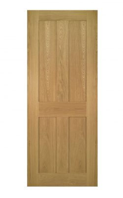 Deanta Eton Unfinished Oak FD30 Fire DoorDeanta Eton Unfinished Oak FD30 Fire Door