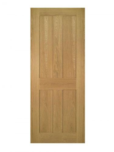 Deanta Eton Unfinished Oak Internal Door