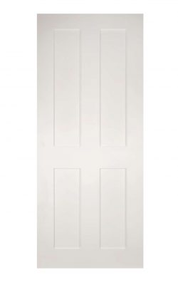 Deanta Eton White Primed FD30 Fire DoorDeanta Eton White Primed FD30 Fire Door