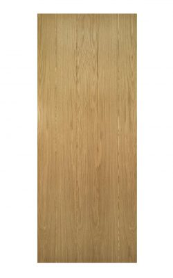 Deanta Galway Unfinished Oak FD30 Fire Door