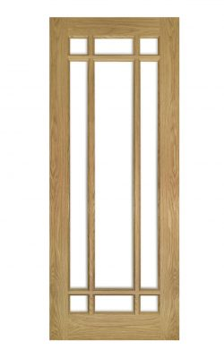 Deanta Kerry Unfinished Oak Bevelled Internal Glazed DoorDeanta Kerry Unfinished Oak Bevelled Internal Glazed Door