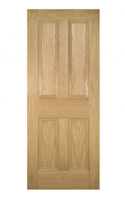 Deanta Kingston Unfinished Oak FD30 Fire DoorDeanta Kingston Unfinished Oak FD30 Fire Door