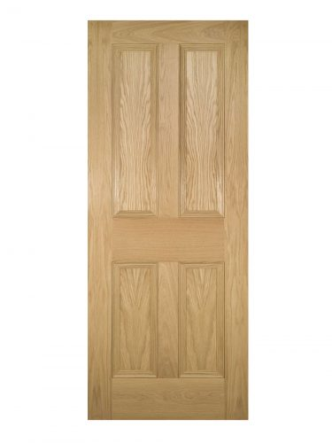 Deanta Kingston Unfinished Oak FD30 Fire Door
