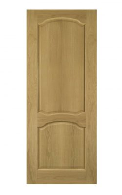 Deanta Louis Unfinished Oak FD30 Fire DoorDeanta Louis Unfinished Oak FD30 Fire Door