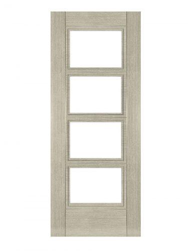Deanta Montreal Light Grey Ash Internal Glazed Door