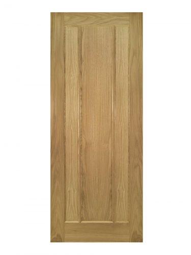 Deanta Norwich Unfinished Oak FD30 Fire Door