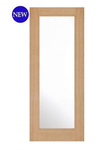 LPD Oak Diez 1L Internal Glazed Door
