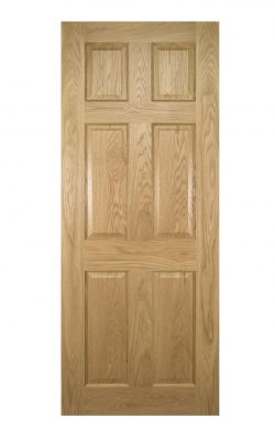 Deanta Oxford Prefinished Oak FD30 Fire DoorDeanta Oxford Prefinished Oak FD30 Fire Door