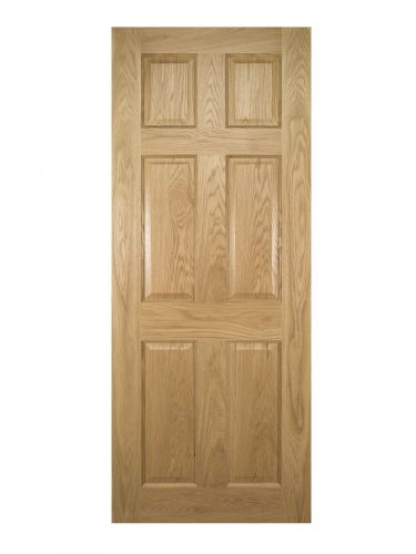 Deanta Oxford Prefinished Oak FD30 Fire Door