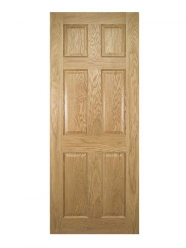 Deanta Oxford Prefinished Oak Internal Door